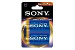 Sony AM1PT-B2D Alkaline LR20-D Stamina Platinum 2pcs blister, D