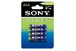 Sony AM4L-B4D Alkaline LR3-AAA Stamina Alkaline green 4 pcs blister, AAA