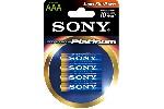 Sony AM4PT-B4D Alkaline R03 Stamina Platinum 4 pcs blister AAA