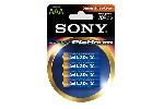 Sony AM4PTB4D Alkaline R03 Stamina Platinum 4 pcs blister AAA
