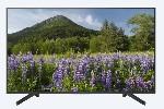 "Sony KD-43XF7096 43"" 4K HDR TV BRAVIA, Edge LED with Frame dimming, Processor 4K X-Reality PRO, Dynamic Contrast Enhancer, Browser, YouTube, Netflix, Apps, XR 400Hz, DVB-C / DVB-T/T2 / DVB-S/S2, USB, Black"