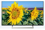 "Sony KD-43XF8096 43"" 4K HDR TV BRAVIA Triluminos, Edge LED with Frame dimming, Processor 4K X-Reality PRO, Android TV 7.0, XR 400Hz, DVB-C / DVB-T/T2 / DVB-S/S2, Voice Remote, USB, Black"