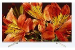 "Sony KD-43XF8577 43"" 4K HDR TV BRAVIA Triluminos, Edge LED with Frame dimming, Processor X1, Android TV 7.0, XR 1000Hz, DVB-C / DVB-T/T2 / DVB-S/S2, Voice Remote, USB, Silver"