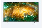 "Sony KD-65XH8077 65"" 4K HDR TV BRAVIA, Direct LED with Frame dimming, 4K HDR Processor X1, Triluminos, XR 400Hz, X-Balanced Speaker, Dolby Atmos, DVB-C / DVB-T/T2 / DVB-S/S2, USB, Android TV, Voice Remote, Slver"
