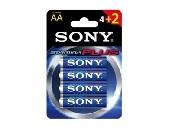 Sony AM3-B4X2D Alkaline LR6-AA Stamina Plus 4+2 pcs pack, AA